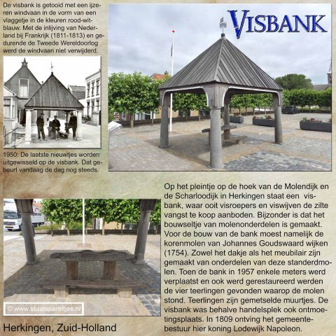Herkingen, Zuid-Holland, Visbank